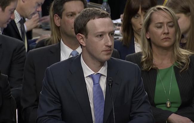 zuckerberg testimony