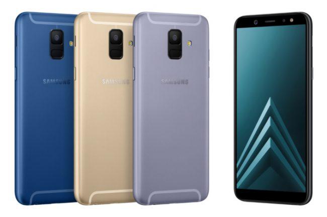 Samsung Galaxy A6 et Galaxy A6+