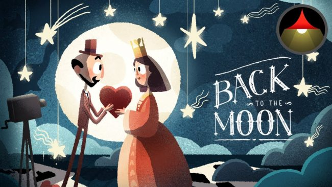 Google Doodle : Back to the Moon