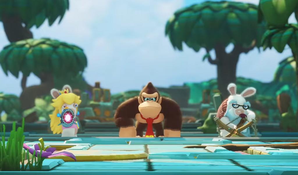 Mario + Les Lapins Crétins