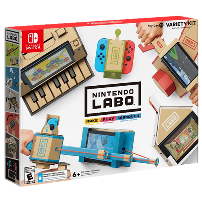 Nintendo Labo cover