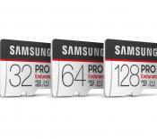 Samsung présente sa nouvelle carte microSD PRO Endurance