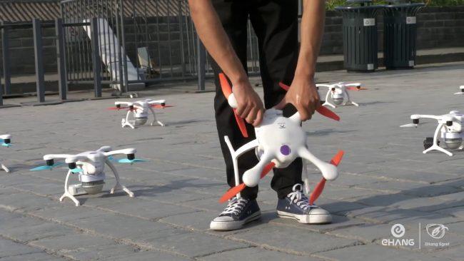 1 374 drones en chine