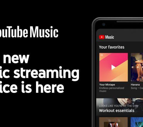YouTube Music permet de basculer de l'audio à la vidéo de manière fluide