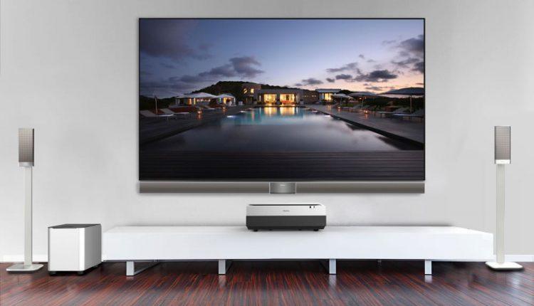 HiSense Laser TV 100