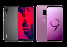 Comparatif : Samsung Galaxy S9+ vs Huawei P20 Pro, lequel choisir ?