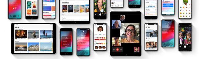 Les nouveautés d'iOS 12 © Apple