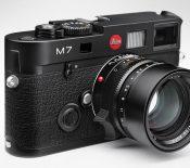 Le Leica M7 tire sa révérence