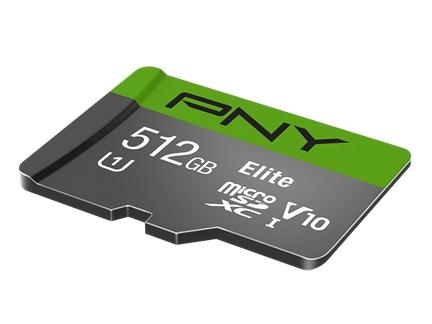 carte microSD PNY Elite 512 Go