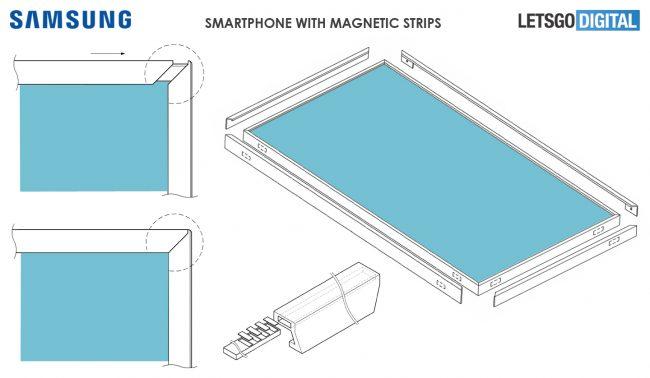 brevet Samsung borderless