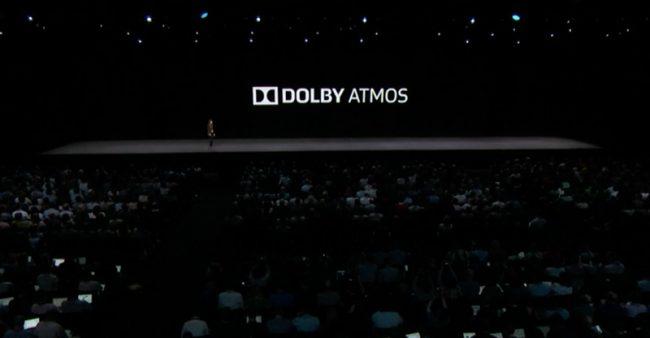 tvOS Dolby Atmos