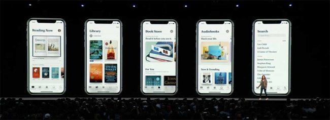 Nouveautés Apple WWDC 2018