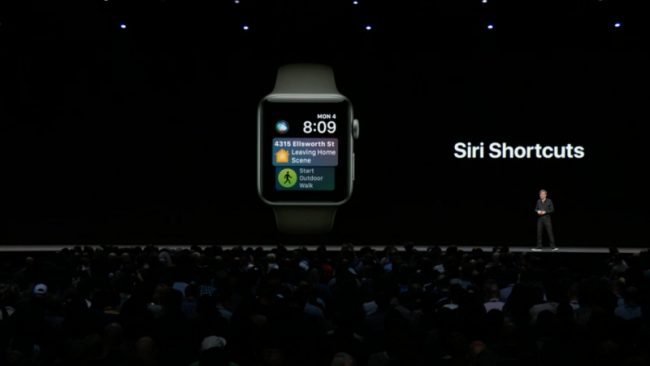 watchOS 5.0 à la WWDC 2018