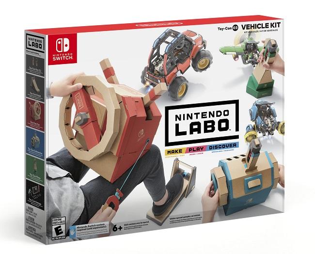 Un nouveau Vehicle Kit prévu pour septembre — Nintendo Labo