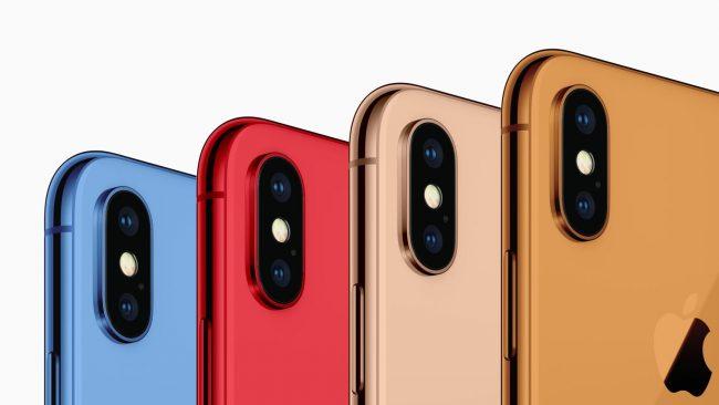 Nouveaux coloris 2018 pour les iPhone