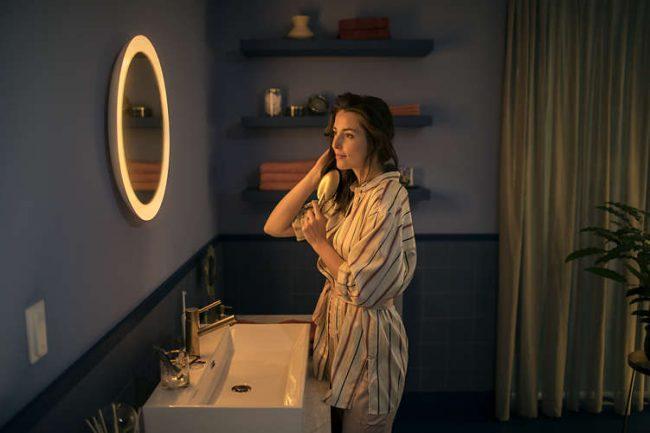 Miroir pour salle de bain Philips Hue Adore