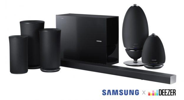 Deezer HiFi : les barres de son et enceintes Samsung sont désormais compatibles