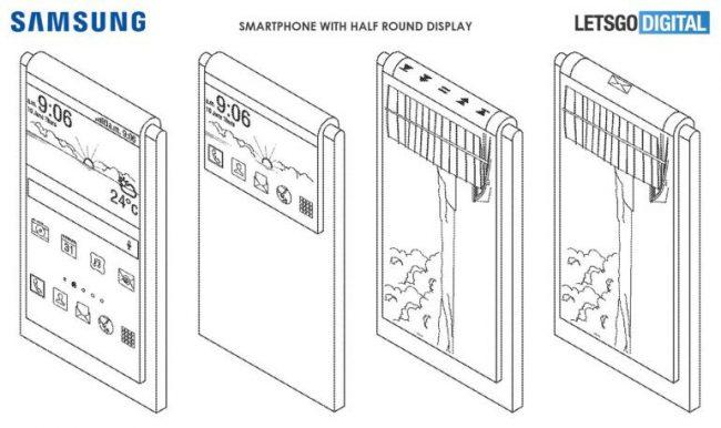 Samsung smartphone flexible