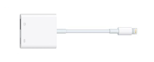 daptateur Lightning vers USB d'Apple