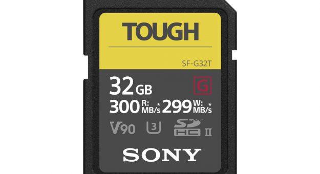 Sony SF-G series Tough specification : des cartes SD robustes pour la rentrée