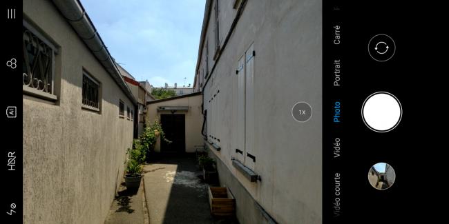 Application photo du Xiaomi Mi Mix 2S