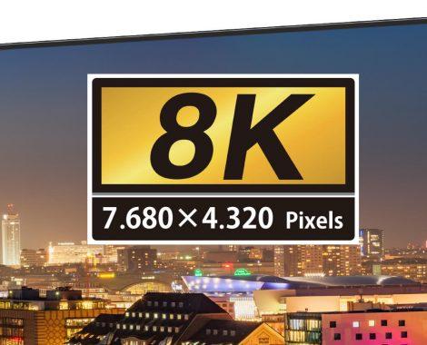 La 8K, c'est quoi ? Le point sur les TV et contenus disponibles