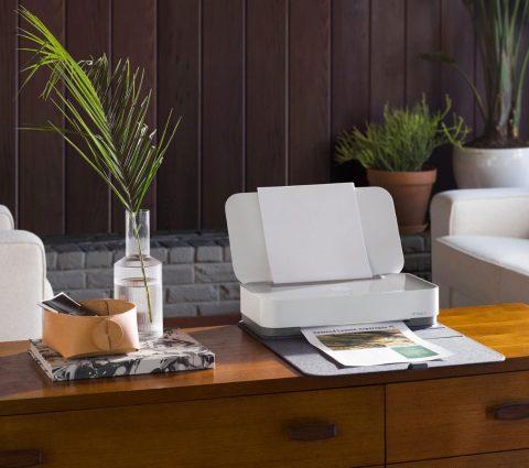 HP Tango : une imprimante connectée design et bientôt pilotable à la voix