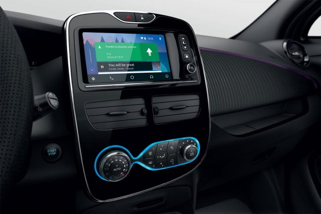 R-LINK Evolution avec Android Auto © Renault Marketing 3D-Commerce