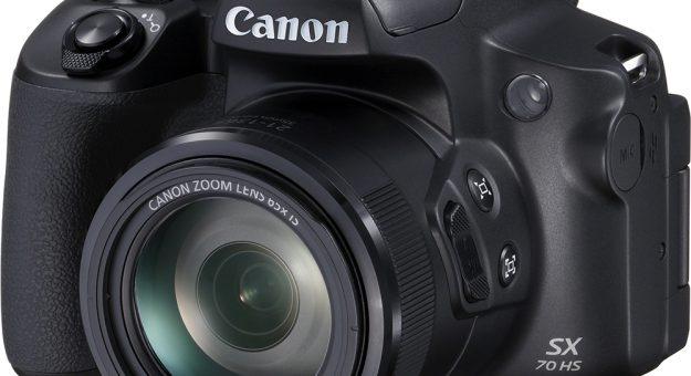 Canon PowerShot SX70 HS : un zoom x65 (et plus) pour contrer le Nikon P1000