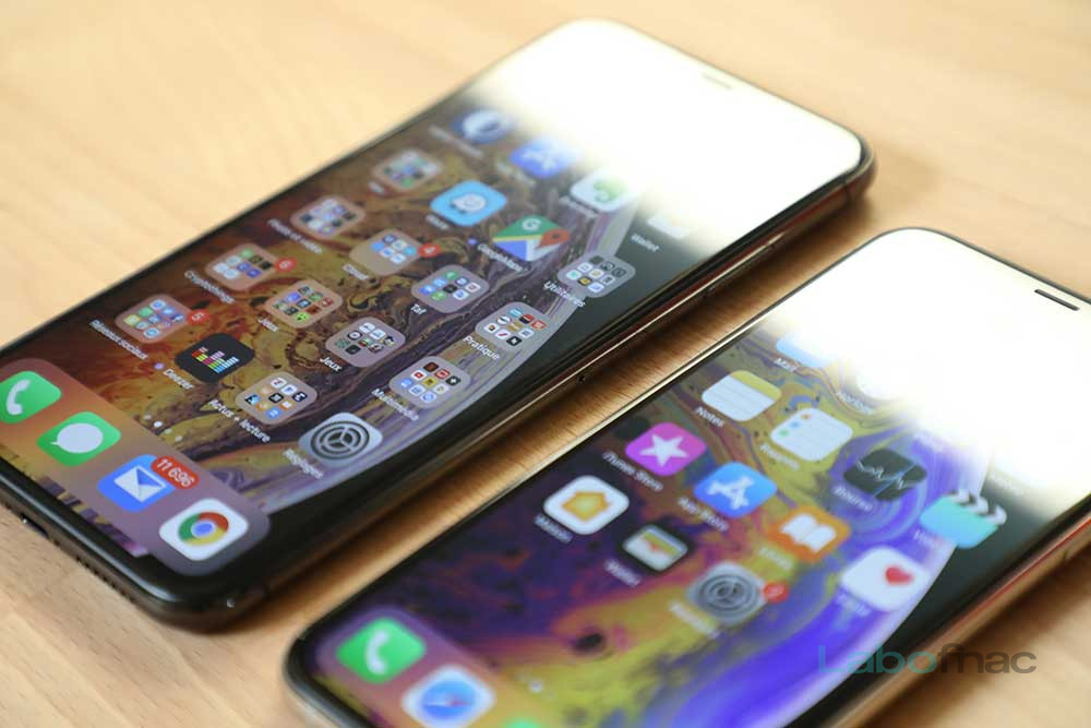 Test iPhone Xs / Xs Max : leur design face au Galaxy S9+