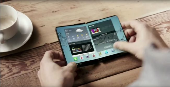 Samsung Galaxy X CES 2013