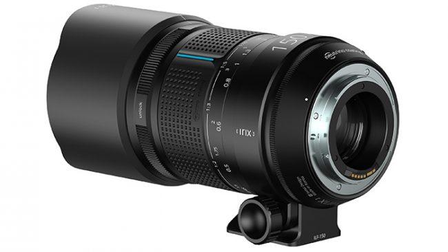 irix 150 mm f/2.8 macro