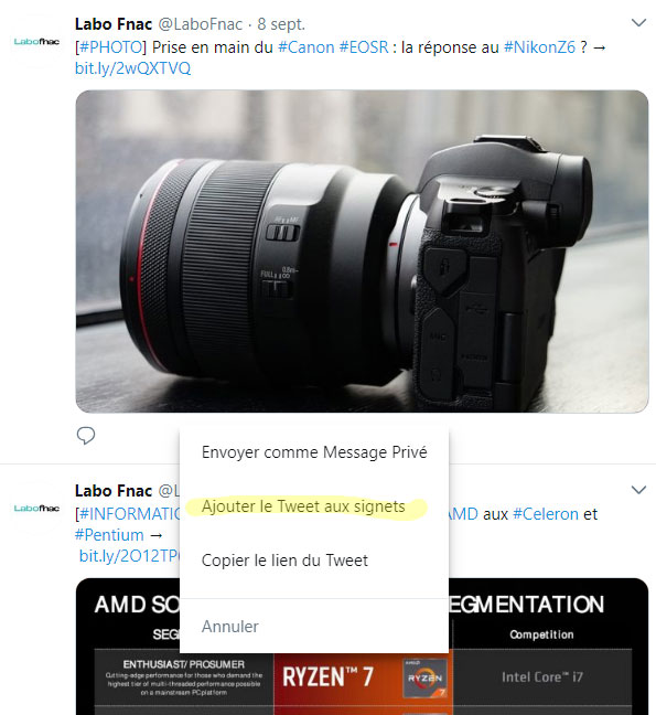 © Capture d'écran (LaboFnac/Twitter)