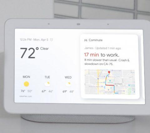 Google Home Hub : Assistant gagne un écran
