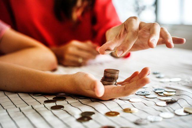 Argent pièces monnaie