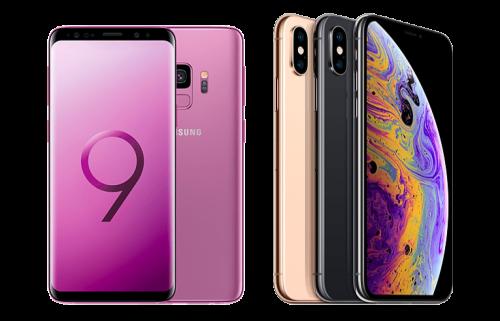 Comparatif : iPhone Xs vs Samsung Galaxy S9, lequel choisir ?