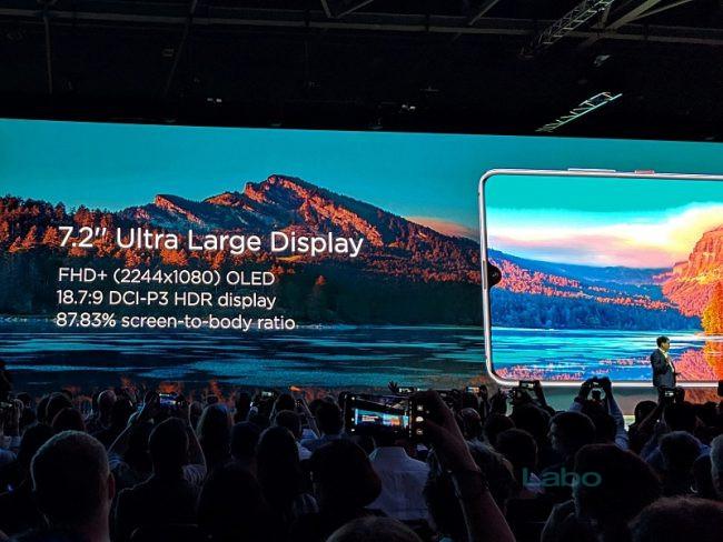 Présentation Huawei Mate 20X