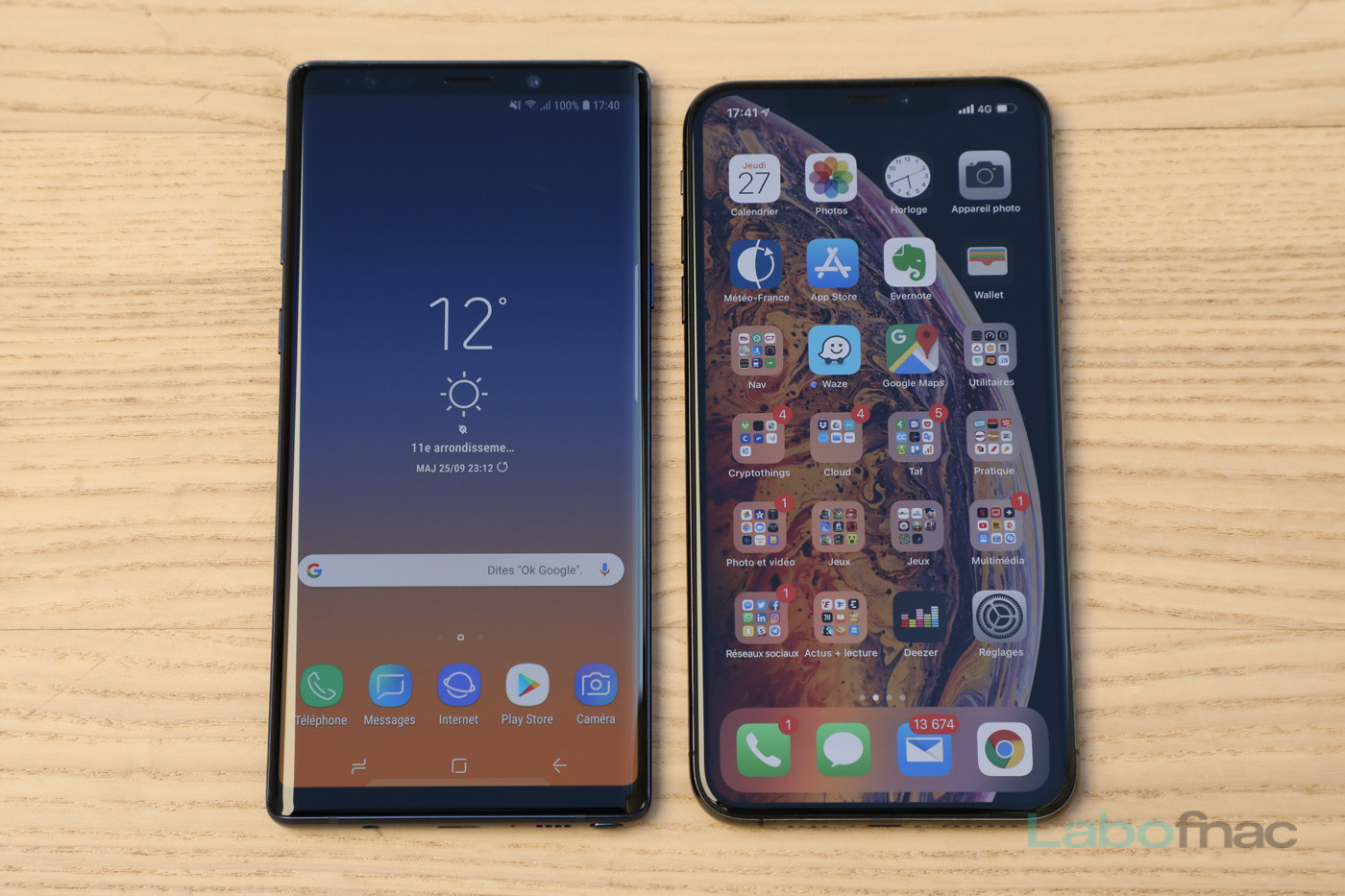comparatif smartphone versus