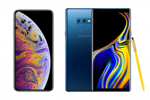 Comparatif : iPhone Xs Max vs Samsung Galaxy Note 9, lequel choisir ?