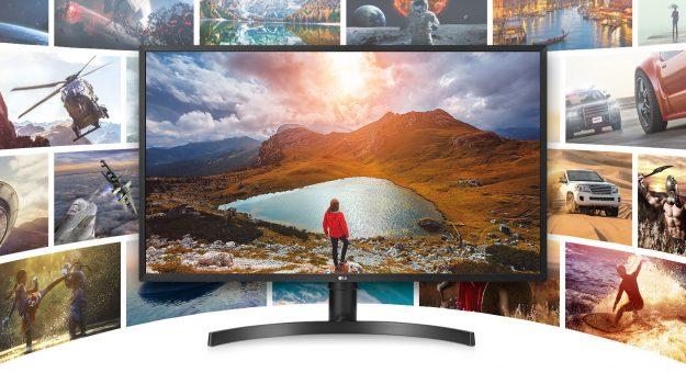 LG dévoile unmoniteur 32 pouces Ultra HD et HDR10 à prix contenu