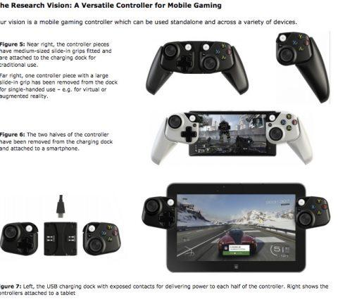 Microsoft déterre un concept de vraie manette de jeu pour mobiles
