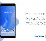 Nokia 7 Plus : la mise à jour vers Android 9.0 Pie est en route
