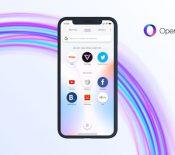 Opera Touch s'invite sur iPhone pour concurrencer Safari Mobile
