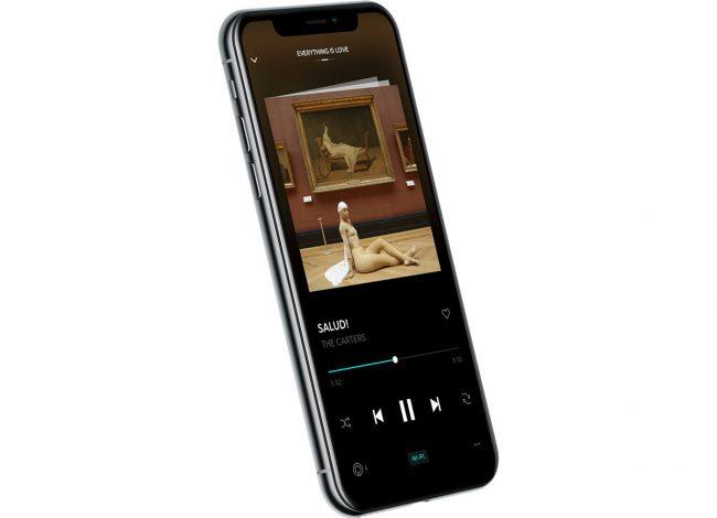 Tidal iPhone X