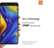 Le Xiaomi Mi Mix 3 sera équipé d'un mode slow motion à 960 fps