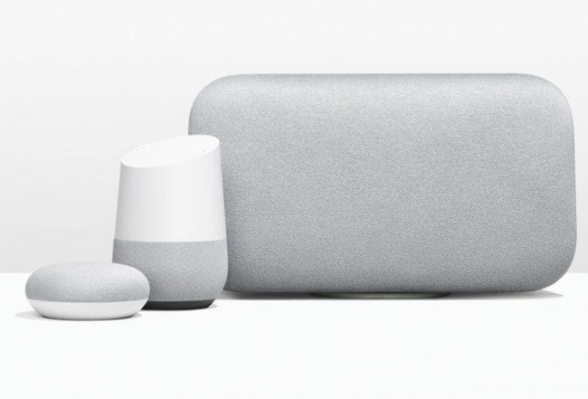 Famille Google Home