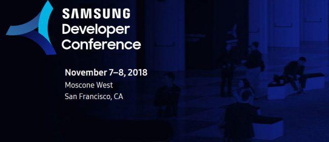 Le Galaxy F doit être évoqué lors de la SDC 2018 © Samsung