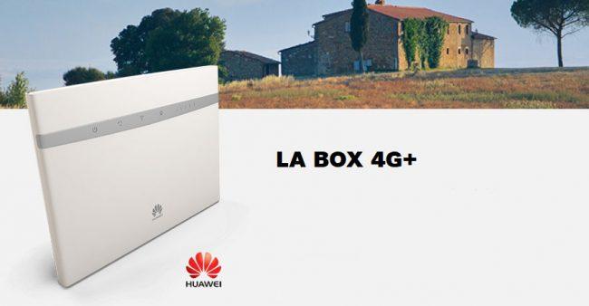La Box 4G de SFR © SFR