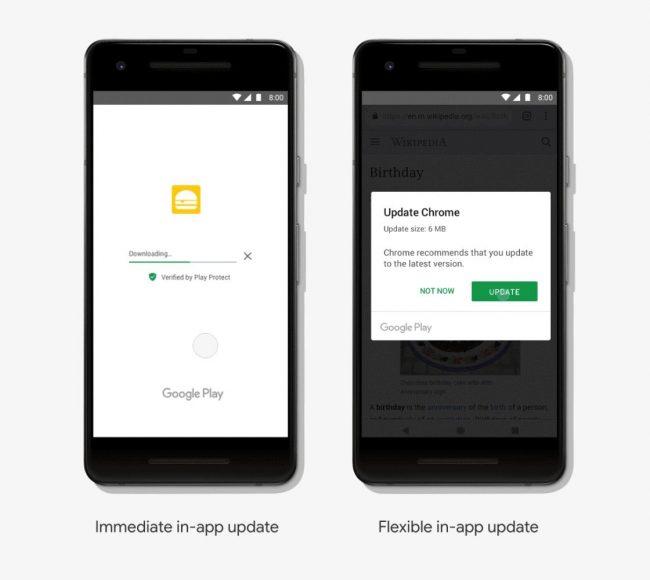 Mises à jour in-app dans Android