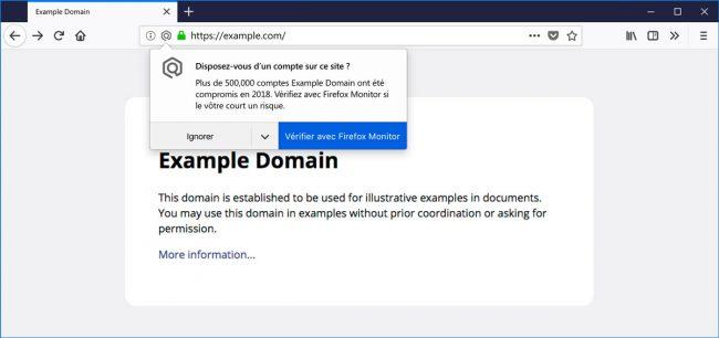 Firefox va vous prévenir si le site que vous visitez a récemment été compromis © Mozilla